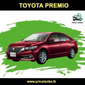 Toyota Premio Price in Sri Lanka