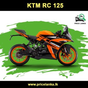 KTM RC 125 Price in Sri Lanka